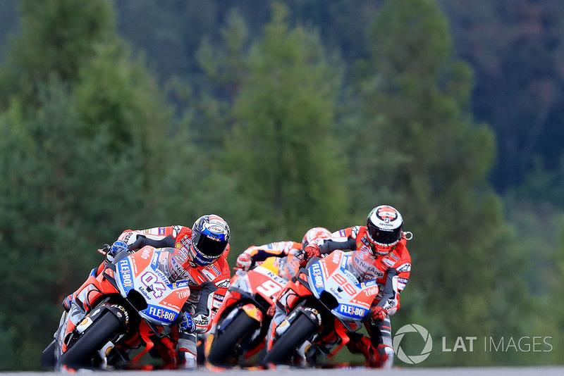 Podio: 2º GP República Checa 2018