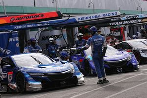 #17 KEIHIN NSX-GT, #100 RAYBRIG NSX-GT