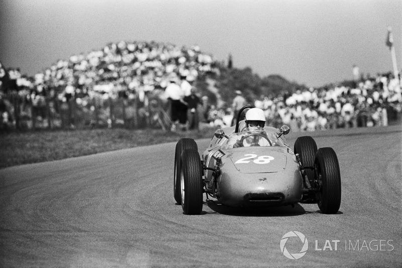 Zandvoort 1964: Carel Godin de Beaufort met de Porsche 718