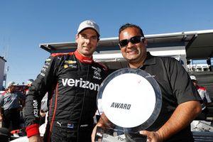 Pole para Will Power, Team Penske Chevrolet con Steven Williams de Verizon