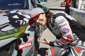 Pole position per #86 Michael Shank Racing con Curb-Agajanian Acura NSX, GTD: Katherine Legge