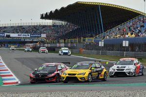 Stian Paulsen, Stian Paulsen Racing Cupra TCR, Josh Files, Hell Energy Racing con KCMG Honda Civic Type R TCR