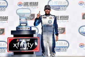 Ross Chastain, Chip Ganassi Racing, Chevrolet Camaro DC Solar wins