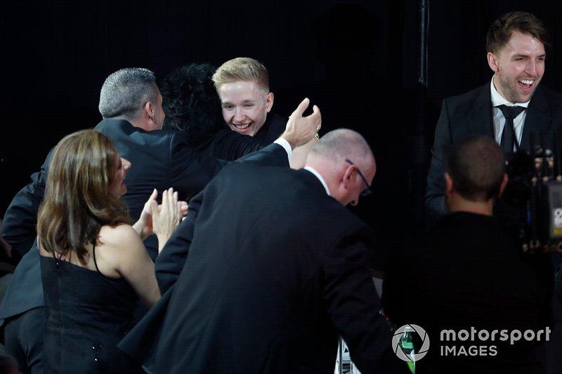 Johnathan Hoggard gana el Premio al Piloto Joven del Año Aston Martin Autosport BRDC