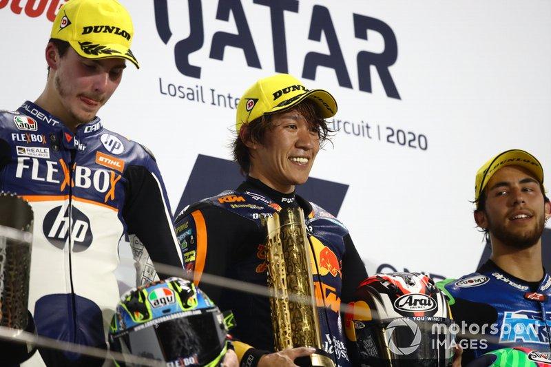 Podio: Tetsuta Nagashima, Red Bull KTM Ajo