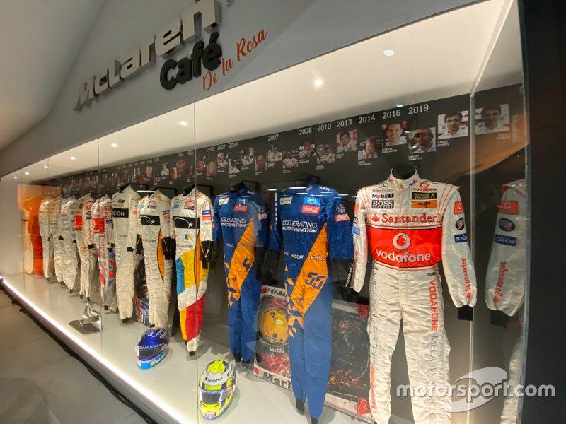 Presentación McLaren Barcelona