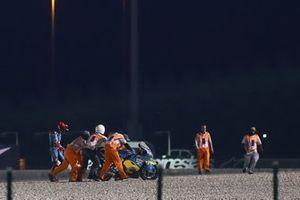 Sam Lowes, Marc VDS Racing after crash