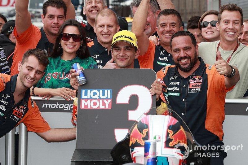 Third place Jorge Martin, KTM Ajo