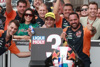 Tercer lugar Jorge Martin, KTM Ajo