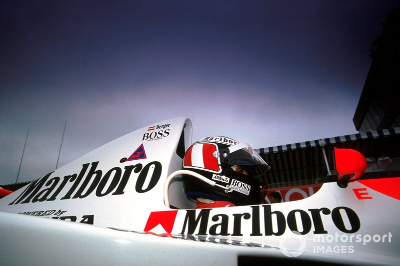 Gerhard Berger, McLaren MP4/5B