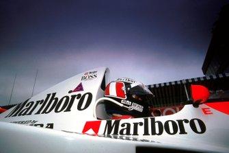 Gerhard Berger, McLaren, al GP di Canada del 1990