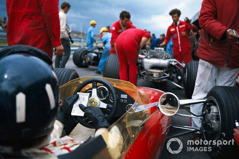 Graham Hill, Lotus 49B Ford, al GP d'Olanda del 1968