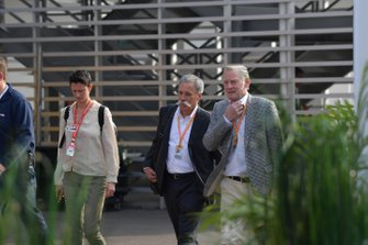 Chase Carey, Chairman, Formula 1, and Sean Bratches, Managing Director of Commercial Operations, Formula One Group