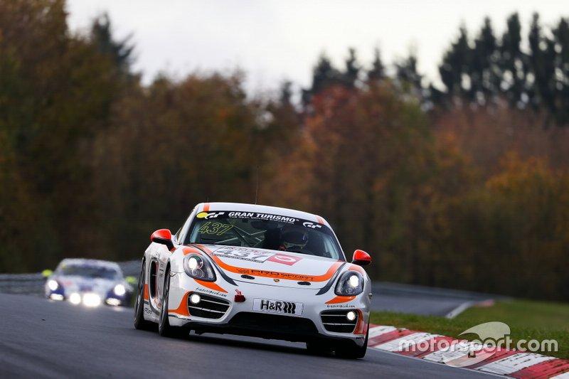 #437 Porsche Cayman: Mattia Drudi, Theau Haslin