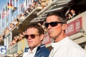 Matt Damon e Christian Bale in una scena del film