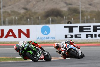 Leon Haslam, Kawasaki Racing Team, Tom Sykes, BMW Motorrad WorldSBK Team