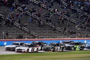 Austin Cindric, Team Penske, Ford Mustang Discount Tire and Brandon Jones, Joe Gibbs Racing, Toyota Supra iK9/Musket Powder
