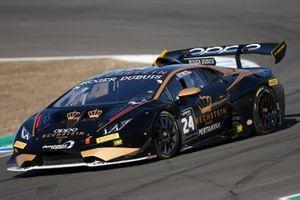 #24 Huracan Super Trofeo Evo, AKF Motorsport: Oliver Freymuth