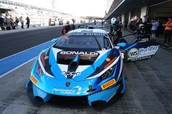 #3 Huracan Super Trofeo Evo, Bonaldi Motorsport: Danny Kroes, Sergey Afanasyev