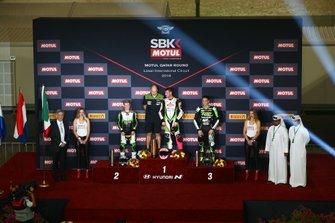 Koen Mueffels, Kawasaki MOTOPORT, Scott Deroue, Kawasaki MOTOPORT, Bruno Ieraci, Kawasaki GP Project