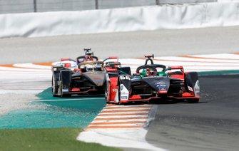 Daniel Abt, Audi Sport ABT Schaeffler, Audi e-tron FE06 Jean-Eric Vergne, DS TECHEETAH, DS E-Tense FE20, Jérôme d'Ambrosio, Mahindra Racing, M6Electro