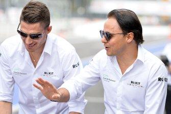Edoardo Mortara, Venturi, Felipe Massa, Venturi
