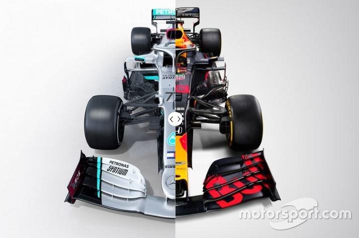 Mercedes W11 vs. Red Bull RB16