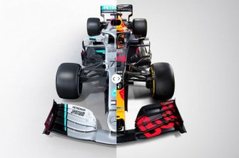 Mercedes W11 vs. Red Bull RB16