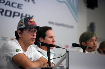 The Jaguar I-Pace eTrophy press conference
