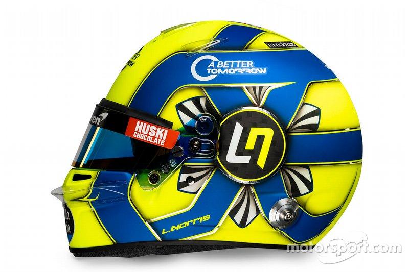 Casco di Lando Norris, McLaren