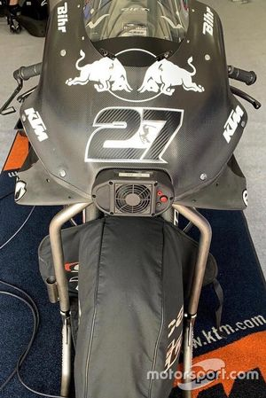 Bike of Iker Lecuona, Red Bull KTM Tech 3