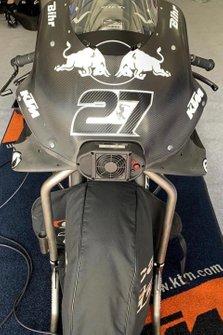 La moto d'Iker Lecuona, Red Bull KTM Tech 3