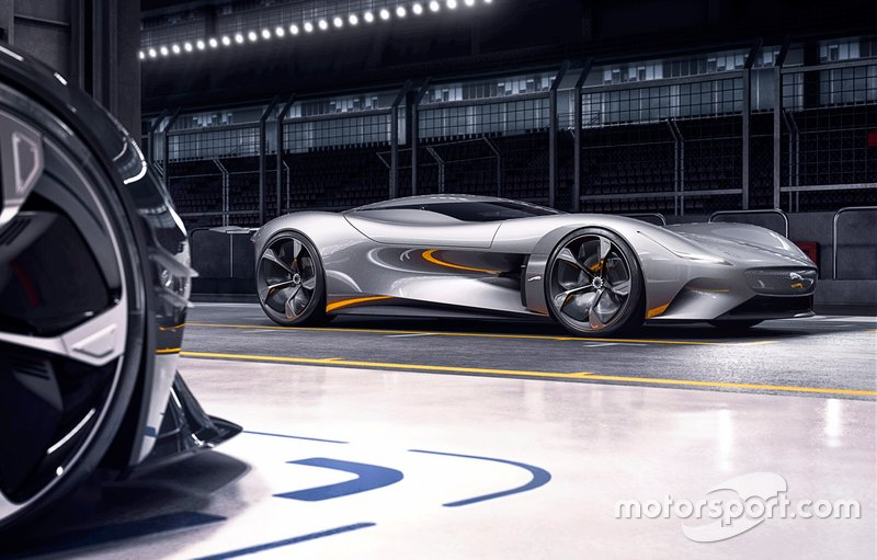 Jaugar Vision Gran Turismo Coupé (octubre 2019)