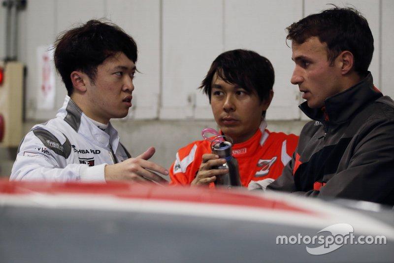 宮田莉朋、富田竜一郎(Audi Team Hitotsuyama)