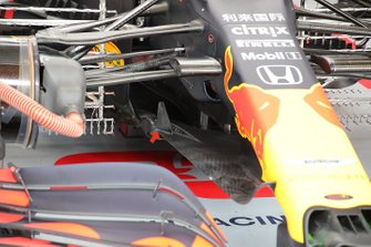 Red Bull Racing RB16 voorvleugel