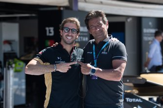 Antonio Felix da Costa, DS Techeetah, with Jean-Michel Tibi