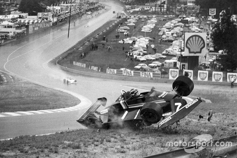 Stefan Bellof, Maurer MM82-BMW, accident at Eau Rouge