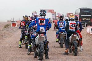 Хунъи Чжао, Wu Pu Da Hai Dao Dakar Rally Team, KTM 450 Rally (№84)