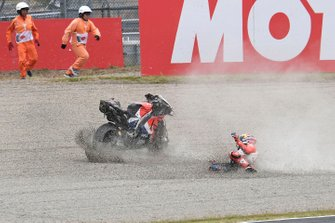 Jack Miller, Pramac Racing crashes
