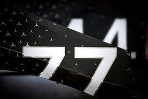 Car of Valtteri Bottas, Mercedes AMG W10 and Lewis Hamilton, Mercedes AMG F1 W10