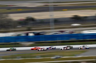 Brandon Jones, Joe Gibbs Racing, Toyota Supra Interstate Batteries and Justin Allgaier, JR Motorsports, Chevrolet Camaro BRANDT