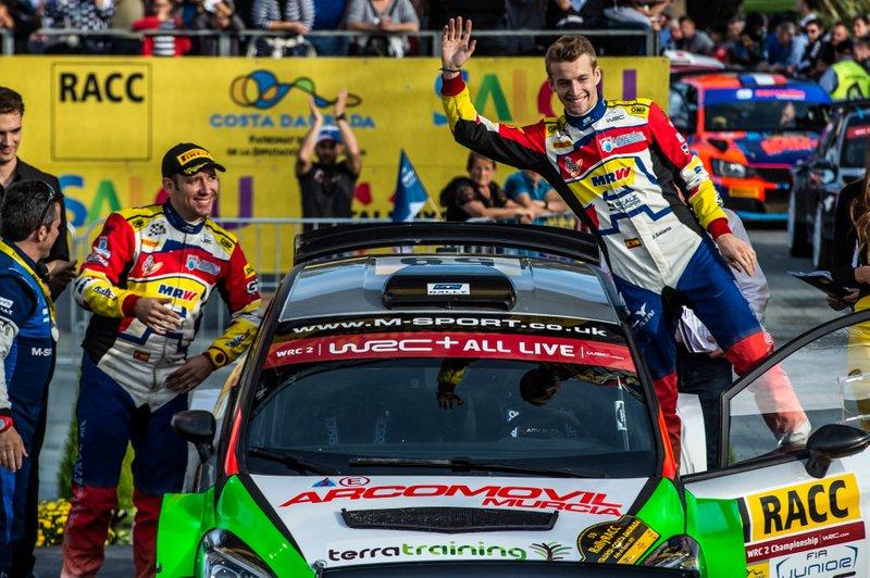 Campeonato del Mundo de Rallies Junior (JWRC): Jan Solans y Mauro Barreiro