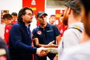 David Castera, wedstrijdleider van de Dakar Rally
