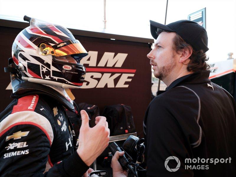 Josef Newgarden, Team Penske Chevrolet, Gavin Ward, engineer