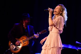 Clare Bowen performs