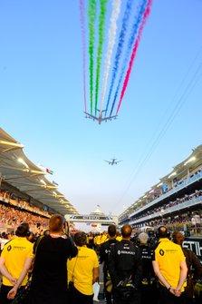 Espectáculo antes del Abu Dhabi GP