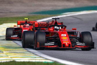 Себастьян Феттель и Шарль Леклер, Ferrari SF90