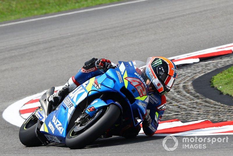 7 - Alex Rins, Team Suzuki MotoGP