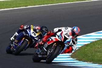 Tom Sykes, BMW Motorrad WorldSBK Team, Loris Baz, Ten Kate Racing Yamaha