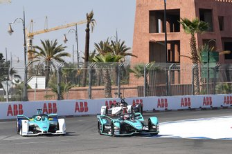 Mitch Evans, Jaguar Racing, Jaguar I-Type 4 Oliver Turvey, NIO 333, NIO FE-005 et Neel Jani, Porsche, Porsche 99x Electric